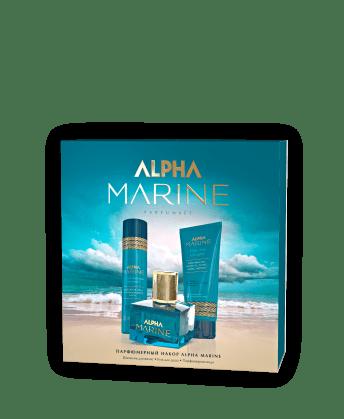 Парфюмерный набор ALPHA MARINE